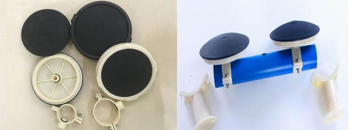膜片微孔曝气头|215曝气器