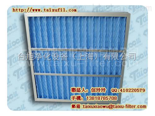 板式粗效过滤网,又叫初效过滤网、粗尘过滤器、预过滤器、新风过滤器