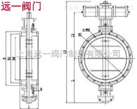 MD643S-1气动耐磨尘气蝶阀