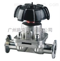 进口卫生级快装式隔膜阀-进口卫生级阀门