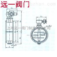 中国产品尘气蝶阀/蜗轮尘气蝶阀D341-0.5C