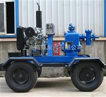 P型强自吸柴油机泵/自吸污水柴油机泵/户外型柴油机水泵