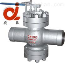 T60Y焊接给水回转式调节阀