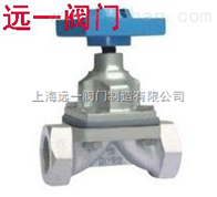 G11W-6P/10P/16P内螺纹隔膜阀
