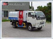 小霸王自装卸式垃圾车、5方东风垃圾车价格、小区垃圾运输车