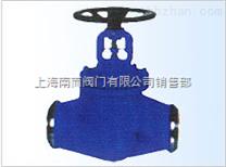 WDJ41H德標、國標對焊式波紋管截止閥