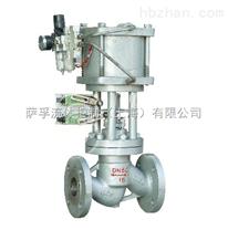 J641H-40C鑄鋼氣動截止閥