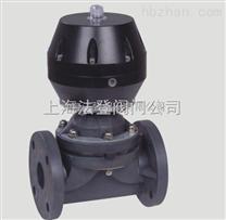 VTG11F-L气动隔膜阀,气动塑料隔膜阀