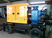 防汛城市移动抢险排水柴油机吸水泵