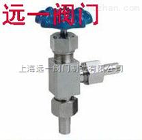 J24W/Y/H-64/100/160/320P/R角式针型阀