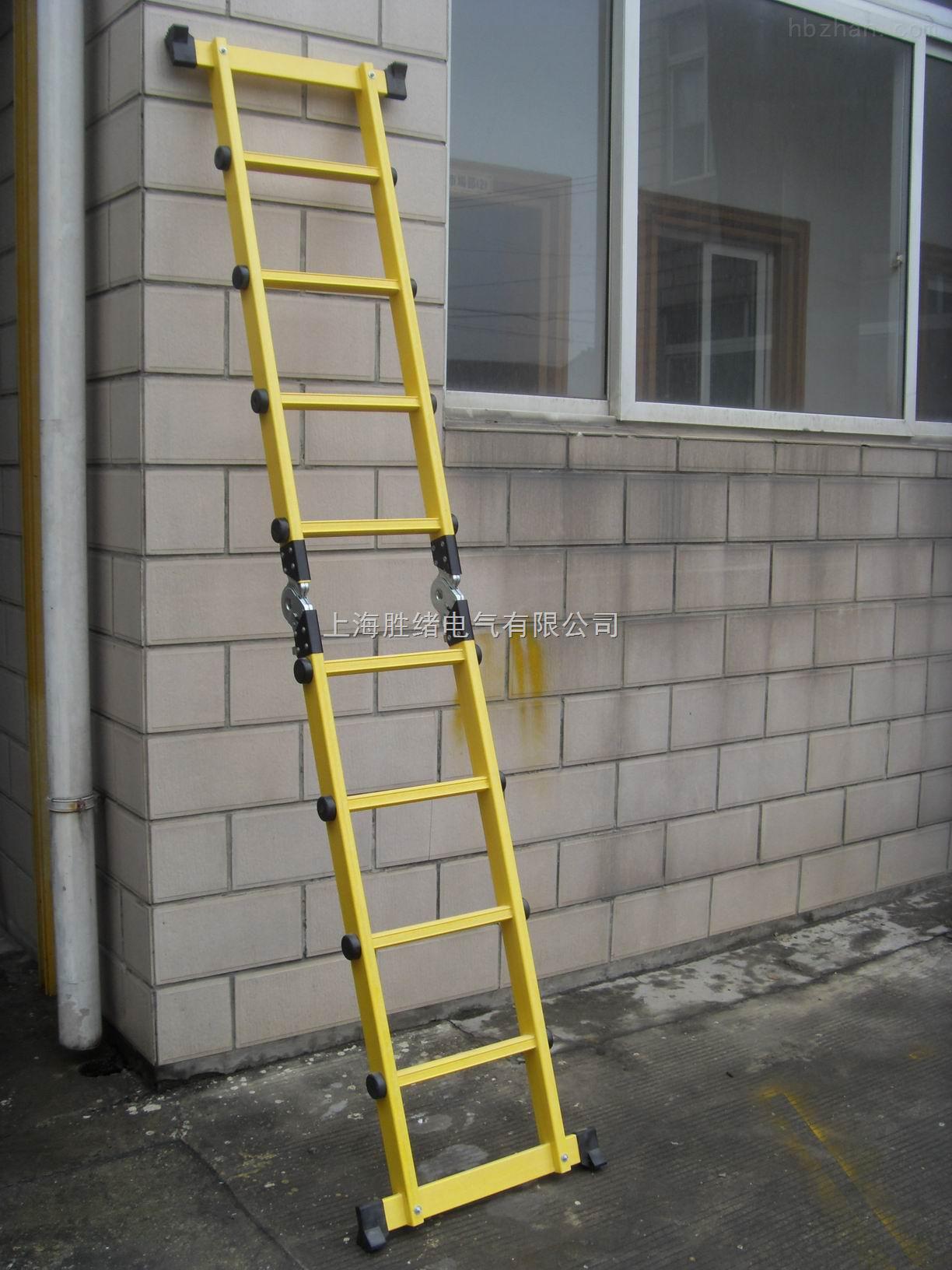 铝合金二节拉升梯*