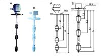 盘型阀操作廊道液位计LSL11-1100/42/1/2连杆浮球液位信号器中国专注产品
