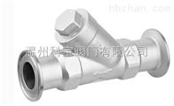 GL81H不锈钢卡箍过滤器DN20-32