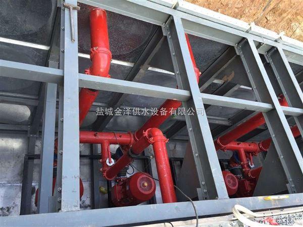 启东容积440m3地埋式一体化消防泵站