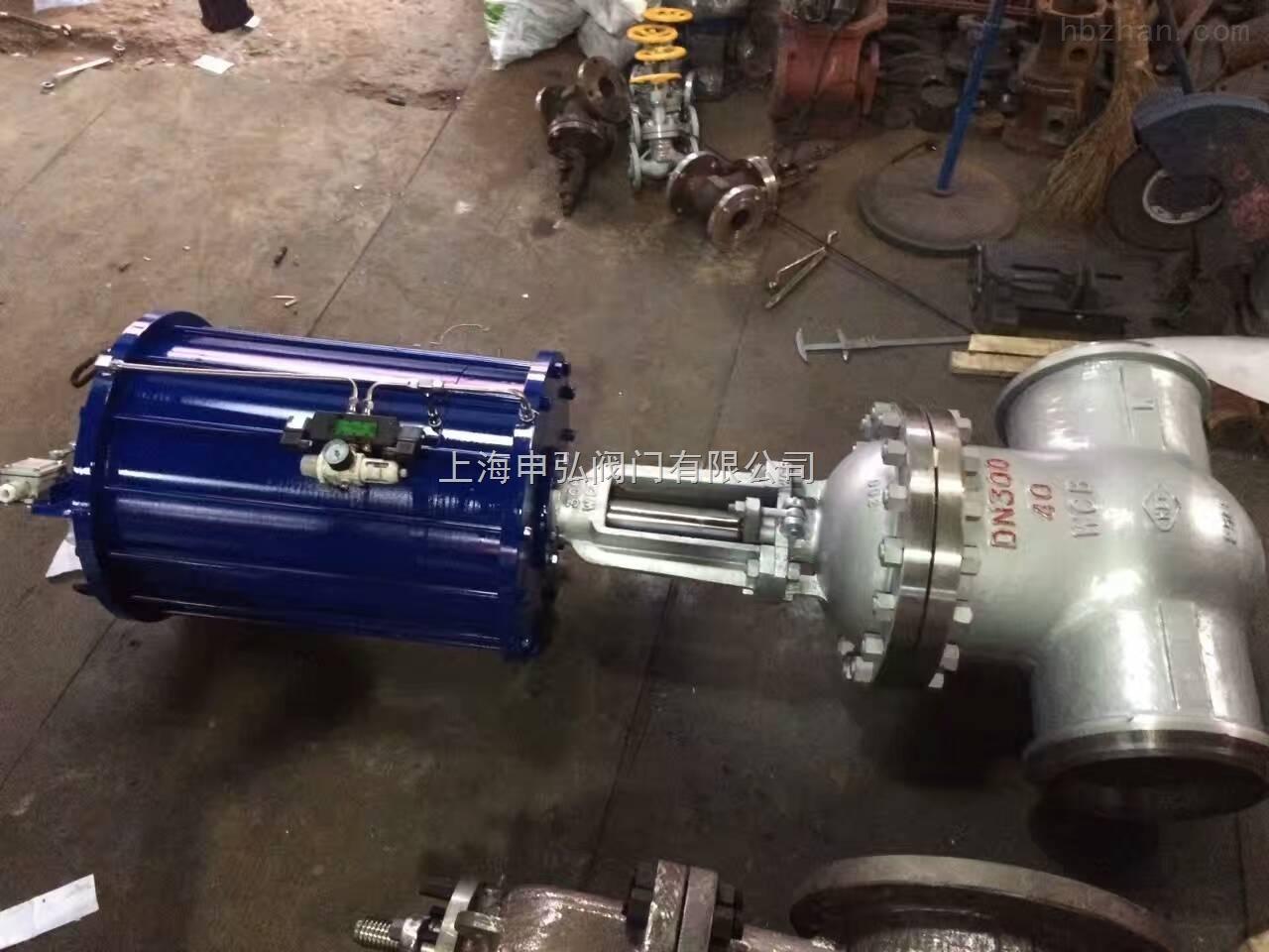 气动承插焊接闸阀