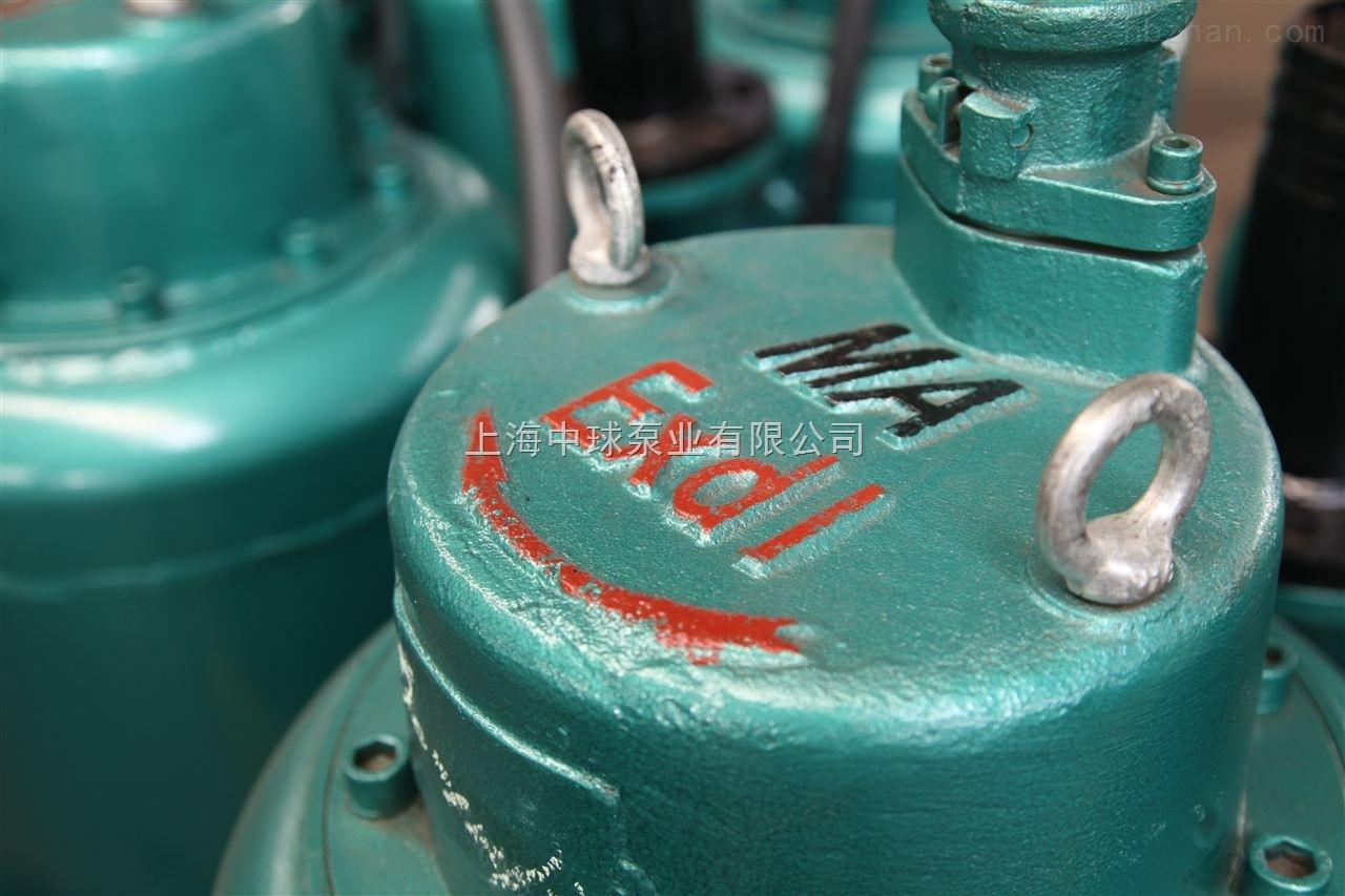 BQW50-10-3矿用隔爆型排污泵