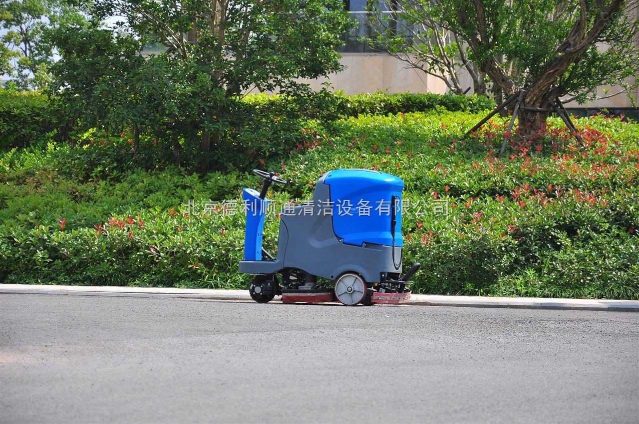 驾驶式自动洗地机-驾驶式双刷自动洗地机