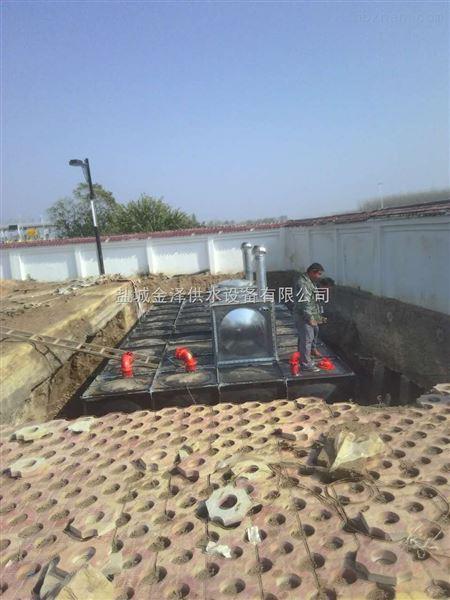 山西阳泉地埋式装配式箱泵一体化消防恒压给水设备厂家