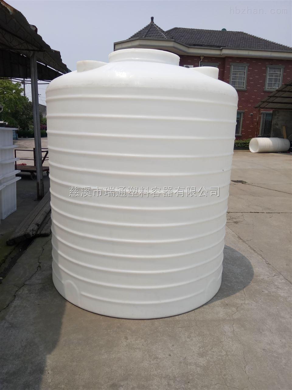5噸塑料蓄水塔 5000L聚乙烯塑料水塔PE材質一體成型價格