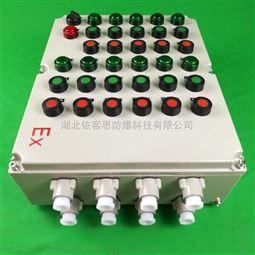 硝化尾气吸收8灯8钮防爆控制箱