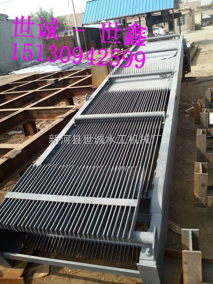 HZ-2000*18000-雨水泵站回转式格栅清污机 除污机直销