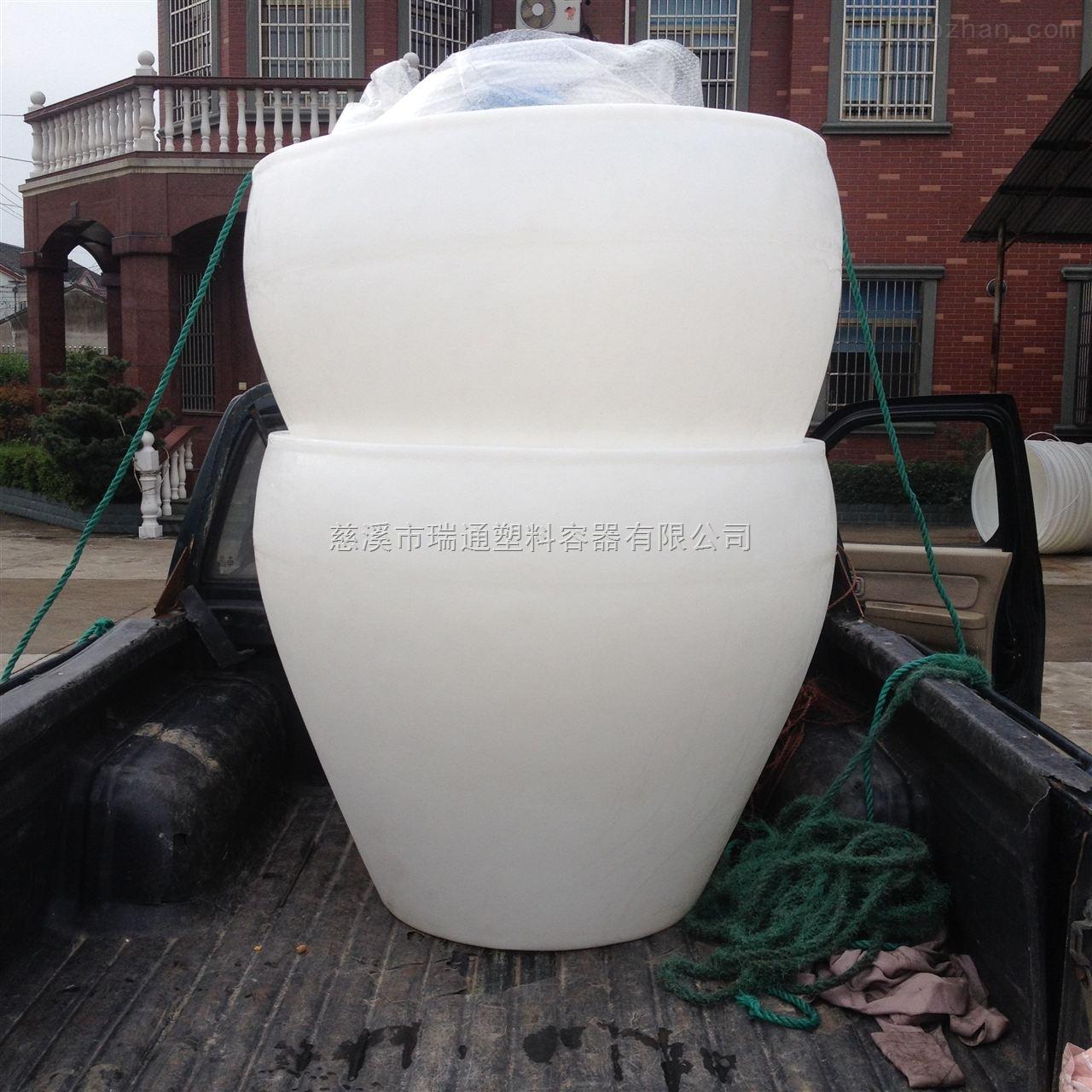酿酒厂专用塑料酒缸 食品级PE材质发酵缸替代传统陶缸