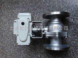 Q941H-16C金属硬密封浮动电动球阀