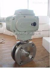 Q971H/F对夹超薄型电动球阀 Q971F-16P