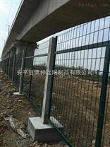高铁桥下桥墩防护金属围网