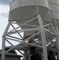 工业用散装除尘伸缩布袋(内外衬扁钢骨架或钢圈骨架)