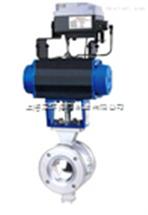 VQ647F气动V型调节球阀