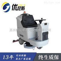 驾驶式全自动双刷洗地机,优尼斯工厂车间拖地机