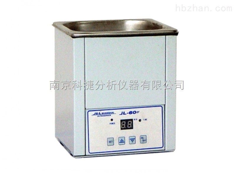 南京科捷全数字化定时、加热功能JL-60DTH台式超声波清洗器
