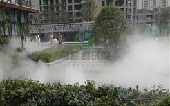 武汉公园喷雾造景设备价格/景区水雾景观人造雾系统/风景区人造烟雾自动喷雾机