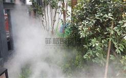 甘肃公园喷雾造景设备价格/景区水雾景观人造雾系统/风景区人造烟雾自动喷雾机