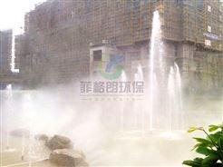 肇庆生态园林优质景观雾效设备价格/人造雾气系统/大型公园人工造雾工程技术