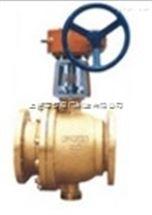 YQ41F-16T,YQ41F-16P氧气蜗轮球阀