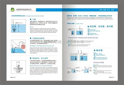 NCW-8075恩策品牌NCW系列沉水罗茨鼓风机----自主品牌、台湾技术