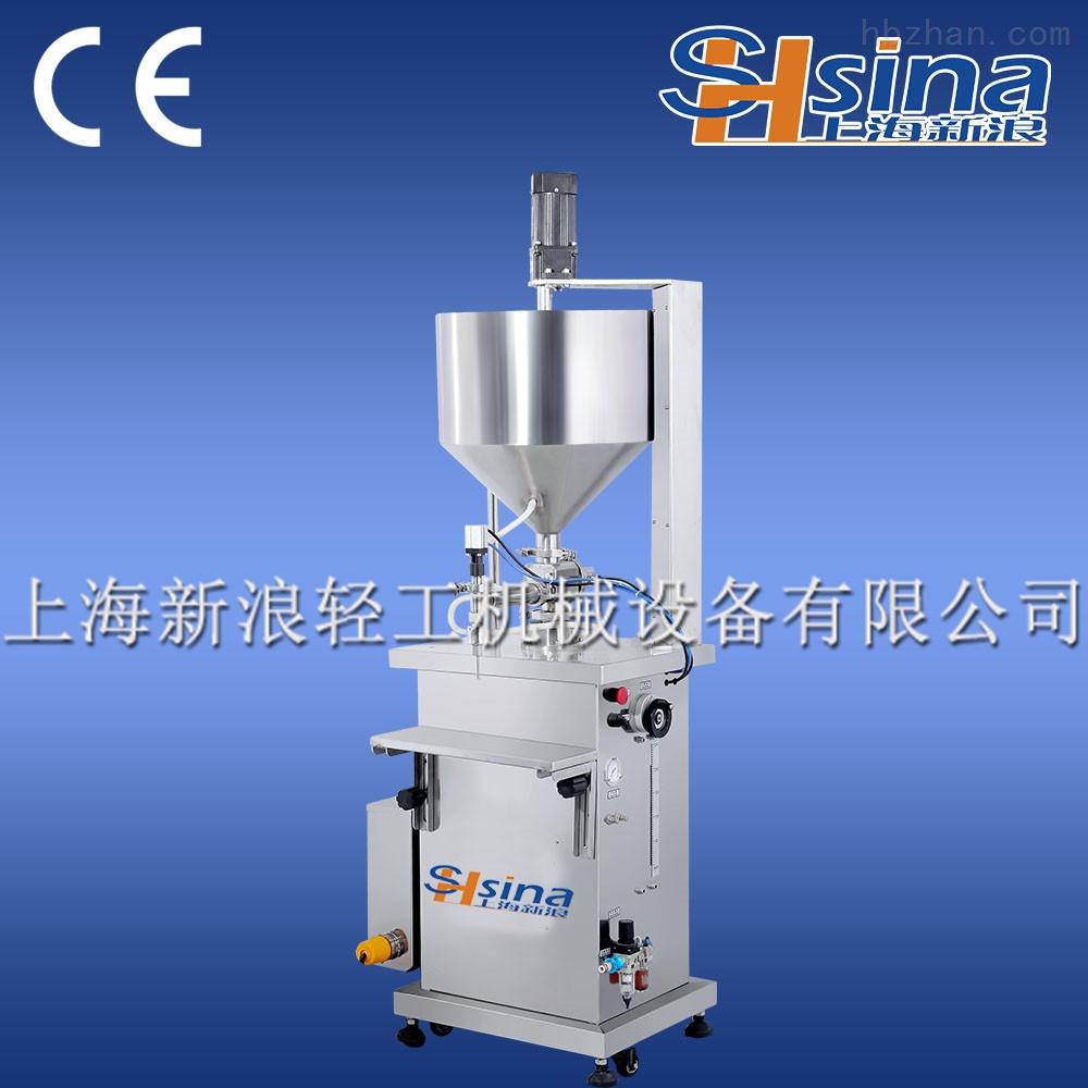 shsina新浪12頭定量液體不銹鋼灌裝機