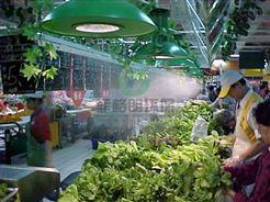 四川农贸批发市场蔬果高压微雾加湿设备价格