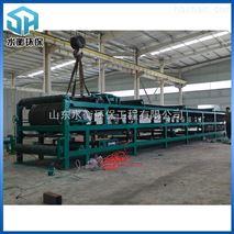 提供设计生产DU系列连续水平真空带式过滤机 生产污水处理设备