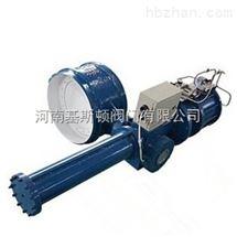 D663W气动焊接蝶阀