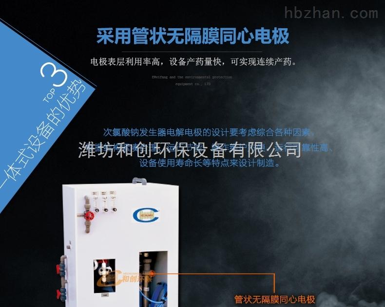 西安高浓度次氯酸钠发生器大型水厂消毒装置
