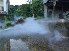 旅游度假区喷雾造景