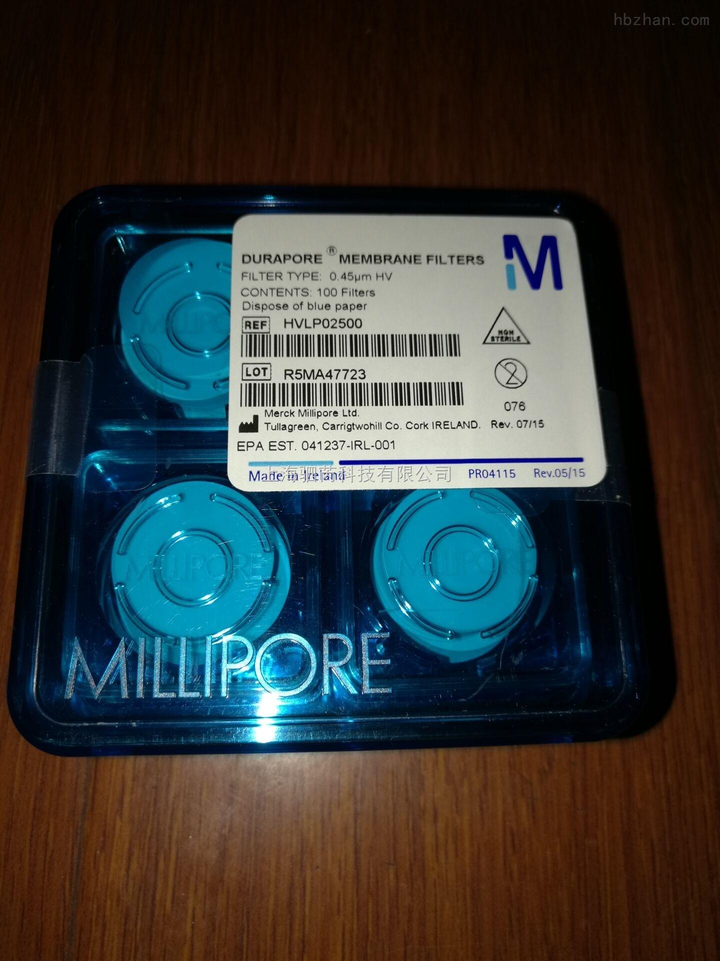 Millipore Durapore 表面滤膜 HVLP04700