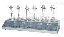 中西(LQS)多頭磁力加熱攪拌器(數顯) 型號:CN60M/HJ-6A庫號:M133948