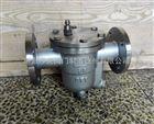 斯派莎克CS41H/W-16P 304不锈钢自由浮球式蒸汽法兰疏水阀疏水器