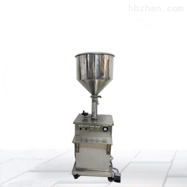 立式半自动膏体灌装机