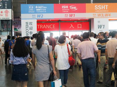 第六届上海城镇建筑水展直面水处理