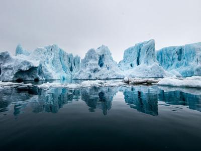 中国科考队员镜头中的北极风光
